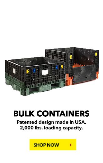 Bulk Containers BUY NOW! schaefershelving.com