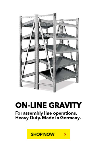 On-Line Gravity BUY NOW! schaefershelving.com