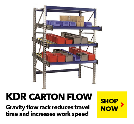 KDR Carton Flow BUY NOW! schaefershelving.com