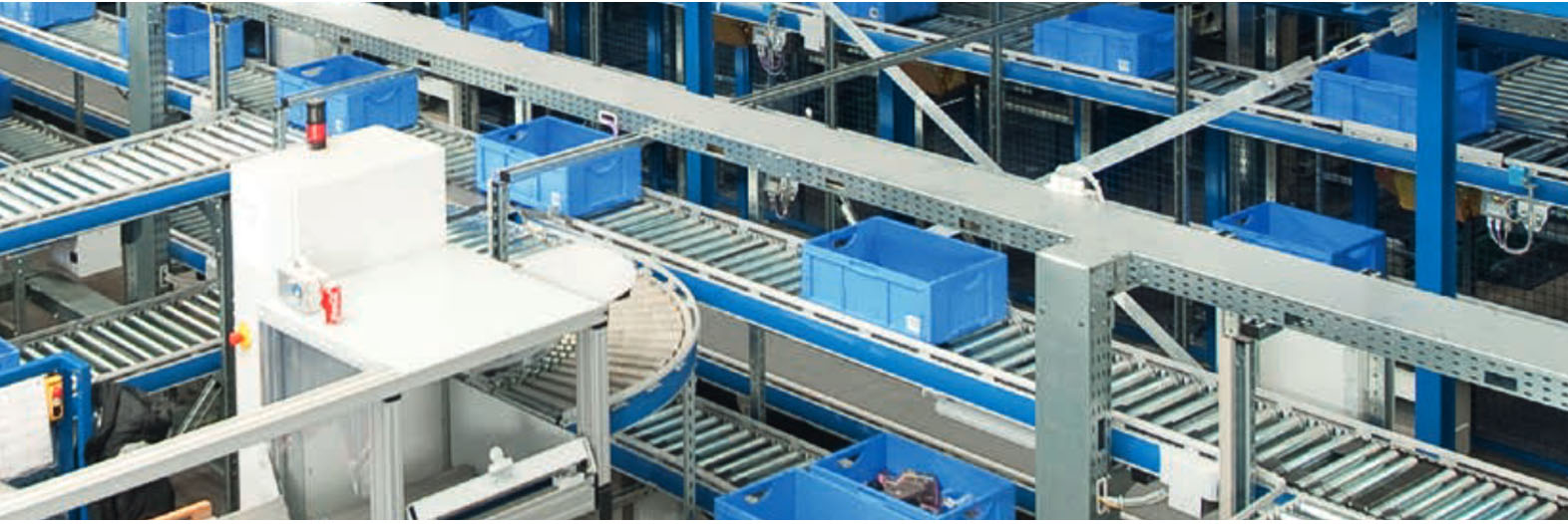 Warehouses with Horizontal Carousel Systems. Quality Horizontal Carousel Systems. SSI Schaefer. www.schaefershelving.com