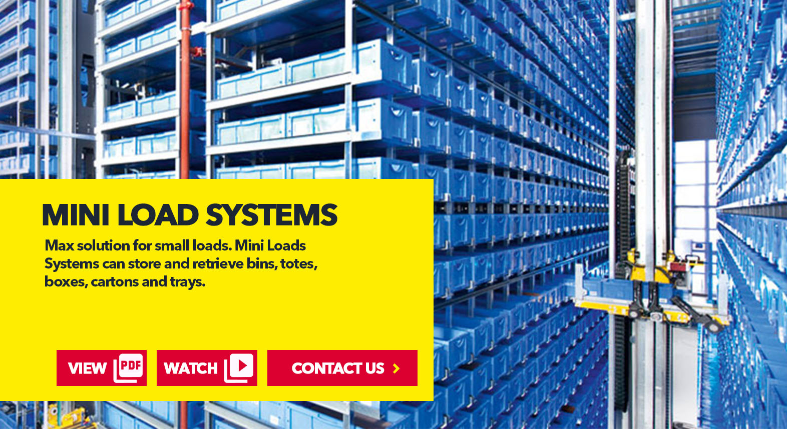 Mini-Load Systems by SSI Schaefer USA. Shop Now. Contact Us. www.chaefershelving.com