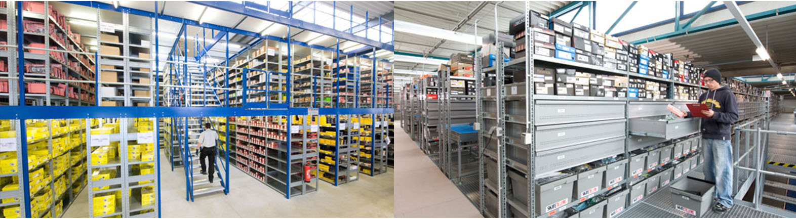 Warehouses with Multi-Level Mezzanine Systems. Quality Mobile Multi-Level Mezzanine Systems. SSI Schaefer. www.schaefershelving.com