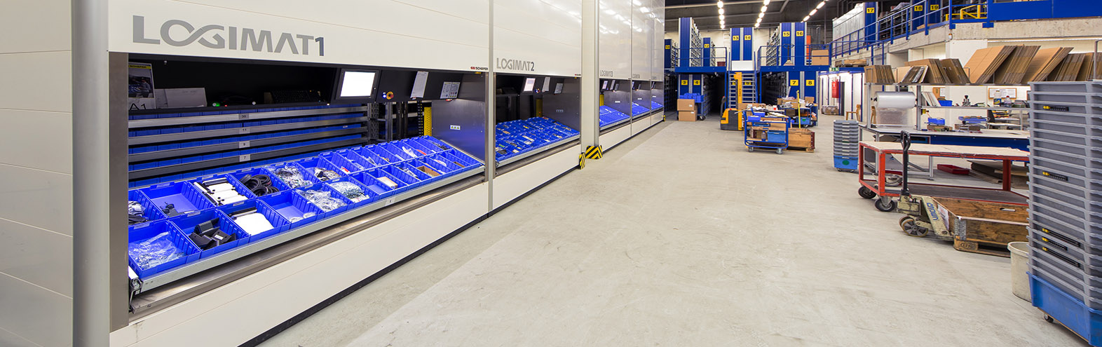Warehouses Vertical Lift Module Systems. Quality Logimat Systems. SSI Schaefer. www.schaefershelving.com
