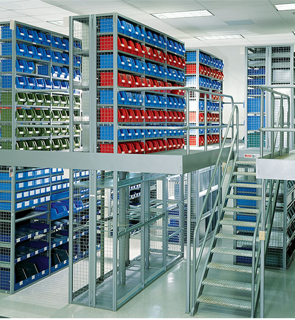 Ask us! Multi-Level Mezzanine Systems. Rack-Supported System. SSI Schaefer.