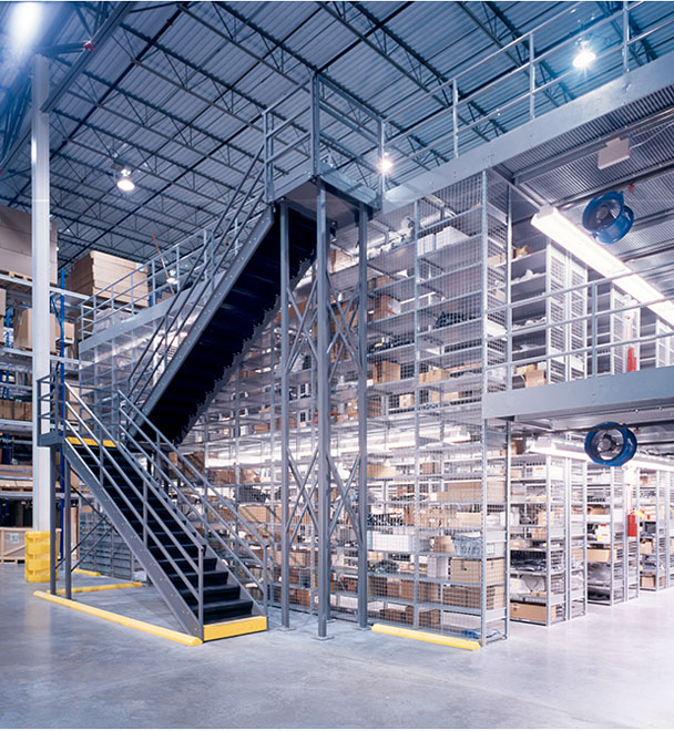 Ask us! Multi-Level Mezzanine Systems. Multi-Level System. Free-Standing System. SSI Schaefer.