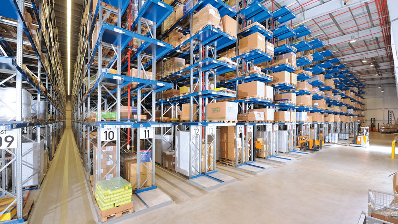 Selective Pallet Rack. High Precision Pallet Rack. Contact us! SSI Schaefer. www.schaefershelving.com