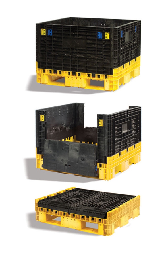 Shipping Reusable Bulk Containers Schaefer Shelving