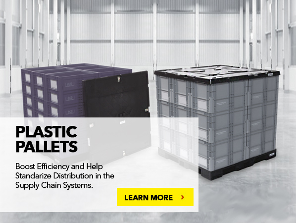 PLASTIC PALLETS. Boost Efficiency and Help Standarize Distribution in the Supply Chain Systems.