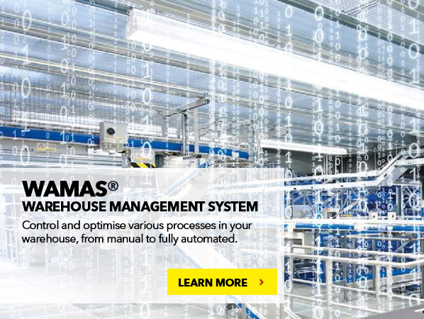 WAMAS® Warehouse Management System. Efficient, Flexible, Reliable Logistics Software for Manual and Automated Operations.