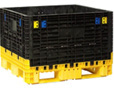 Bulk Container from SSI Schaefer with 4 access doors closed