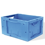 Schaefer LTB Containers with attached Lid for manual or automated applications, by SSI Schaefer