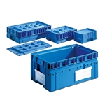 KLT Heavy Duty Plastic Containers by Schaefer Shelving