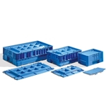KLT Heavy Duty Plastic Automation Container Lids by Schaefer Shelving