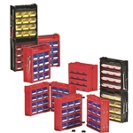 Porta-Fix™ Portable Bin Kits for small parts storage, by Schaefer Shelving