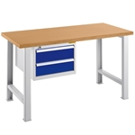Industrial Quality Workbench with tool drawers, by Schaefer Shelving