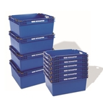 KFB Stack and Nest Containers by Schaefer Shelving