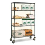 Antimicrobial Wire Shelving Trucks for Medical, Pharmaceutical, Retail, Food applications, from SSI Schaefer