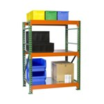 Bulk Rack Shelving units for all manual storage requirements on your Warehouse or Distribution Center, from SSI Schaefer