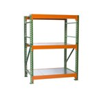 Bulk Rack Shelving with Steel Decking Starter for all manual storage requirements on your Warehouse or Distribution Center, from SSI Schaefer