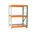Bulk Rack Shelving with Wire Decking Add on for all manual storage requirements on your Warehouse or Distribution Center, from SSI Schaefer