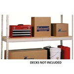 Medium Duty Extra Shelves with No Decking for Warehouse, Industrial, Office , Everyday applications, from SSI Schaefer