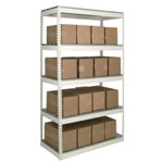Office Shelving units for the storage of folders, documents, boxes, from SSI Schaefer