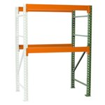 Pallet Rack Shelving unit Add on for all your palletized storage requirements in your warehouse, from SSI Schaefer