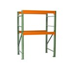 Pallet Rack Shelving unit Starter for all your palletized storage requirements in your warehouse, from SSI Schaefer