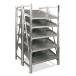 Double Deep On-Line Shelving Units for all your assembly line picking and storage needs, by SSI Schaefer