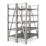 Schaefer Double Deep Straight Starter On Line Shelving for all your assembly line picking and storage needs, by SSI Schaefer