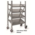 Schaefer Mobile Straight Shelf On Line Shelving for all your assembly line picking and storage needs, by SSI Schaefer