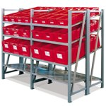 On-Line Shelving Units for all your assembly line picking and storage needs, by SSI Schaefer