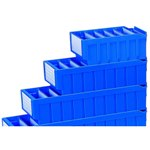 Schaefer Plastic Shelf Bin Dividers to create further partitions, by SSI Schaefer
