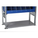 Schaefer R3000 Base Rail to prevent dust accumulation, by SSI Schaefer