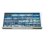 Schaefer Drawer Plastic Insert Boxes for R3000 & R4000 Drawers, by SSI Schaefer
