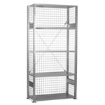 Schaefer R3000 Wire Panels to enclose your Heavy Duty Shelving Unit, by SSI Schaefer