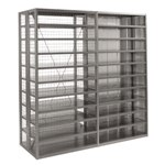 R4000 Heavy Duty Shelving Enclosure Panels, by SSI Schaefer
