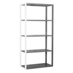 Schaefer R4000 Extra Heavy Duty Shelving Add on Wall Units with accessories like drawers, panels, dividers, doors, by SSI Schaefer