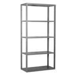 Schaefer R4000 Extra Heavy Duty Shelving Starter Wall Units with accessories like drawers, panels, dividers, doors, by SSI Schaefer