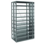 Schaefer R4000 Wire Panels to enclose your Heavy Duty Shelving Unit, by SSI Schaefer