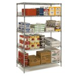Wire Shelving Units for Medical, Pharmaceutical, Retail, Food applications, from SSI Schaefer