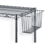 Wire Shelving Utility Basket to hold documents and order related data, from SSI Schaefer