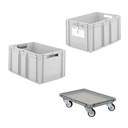 Schaefer Euro Fix Container Accessories for food, industrial, distribution processes, by SSI Schaefer