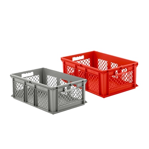 Open Front Euro-Fix Containers improve product visibility and picking performance, by SSI SCHAEFER
