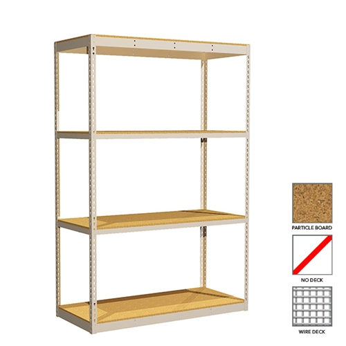 Standard Rivet Shelving for Office, Retail, Home, Everyday Storage applications, from SSI Schaefer