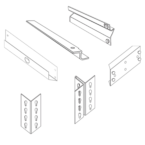Accessories for Steel Shelving Units for Office, Retail, Home, Everyday Storage applications, from SSI Schaefer