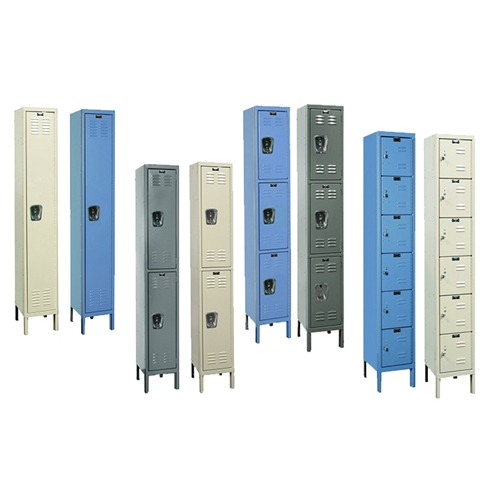 Single Column Single Tier Steel Lockers for all your School, Wardrobe, Locker Room needs, from SSI Schaefer