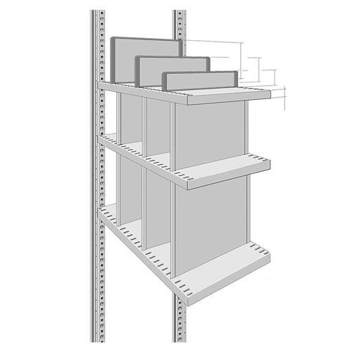 Dividers & Trays for R3000 & R4000 Heavy Duty Shelving Units, by SSI Schaefer