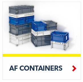 Schaefer AF Transtac Containers for efficient transportation of goods, by SSI Schaefer