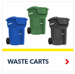 Looking: Waste Carts Waste Containers for Household, Medical, Residential and Industrial applications | By Schaefer USA. Shop Now!